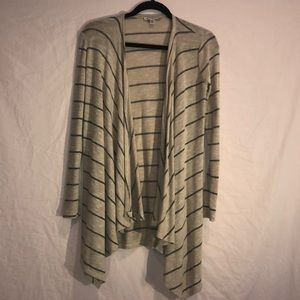 American Eagle Outfitters Long draped cardigan